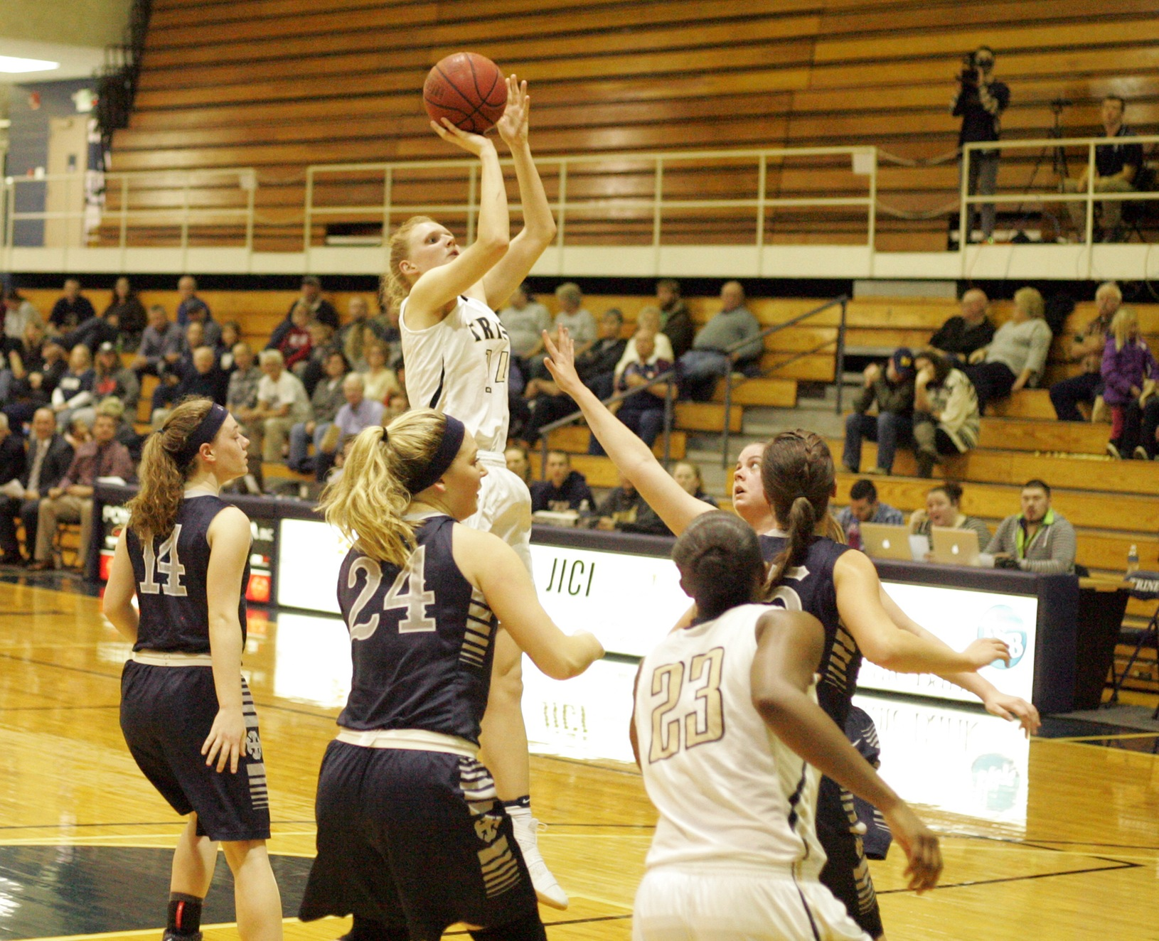 Haley Martin Scores Double-Double in Win Against UW-Stout