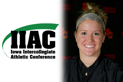 Nielsen named IIAC Athlete of the Week for second time