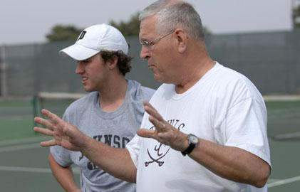 Johnson County's Moser Named ITA Coach of the Year