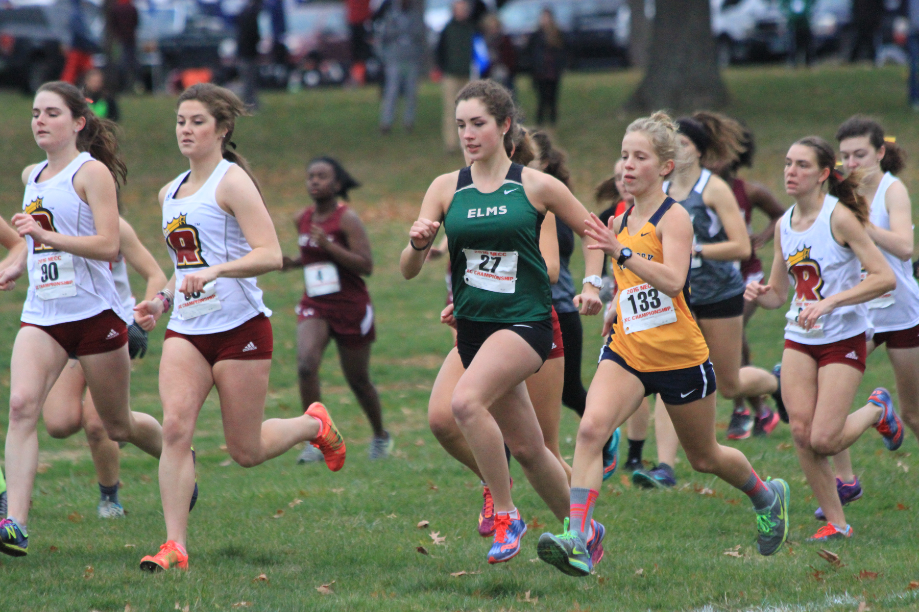 Women's Cross Country Fourth At NECC Championship