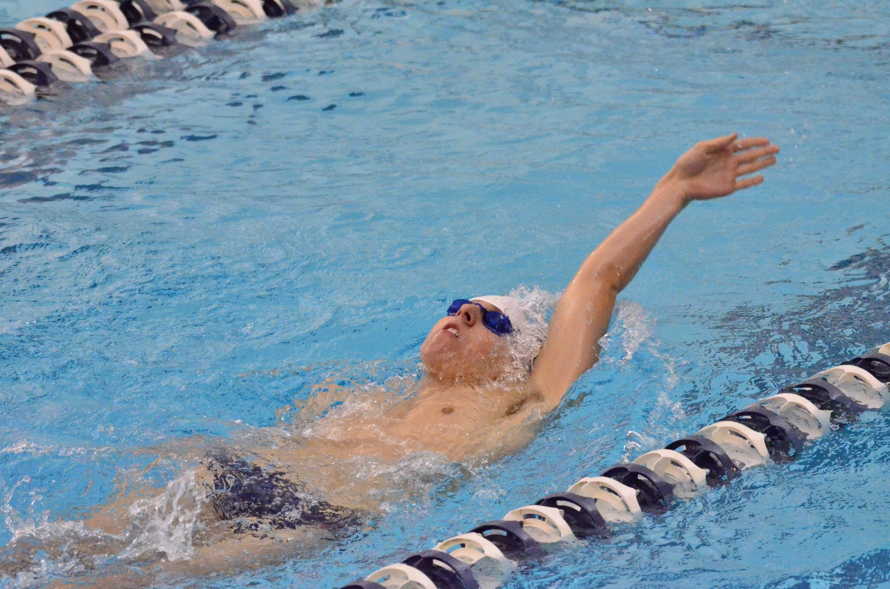 Lions Down Chatham in Men's Swimming and Diving