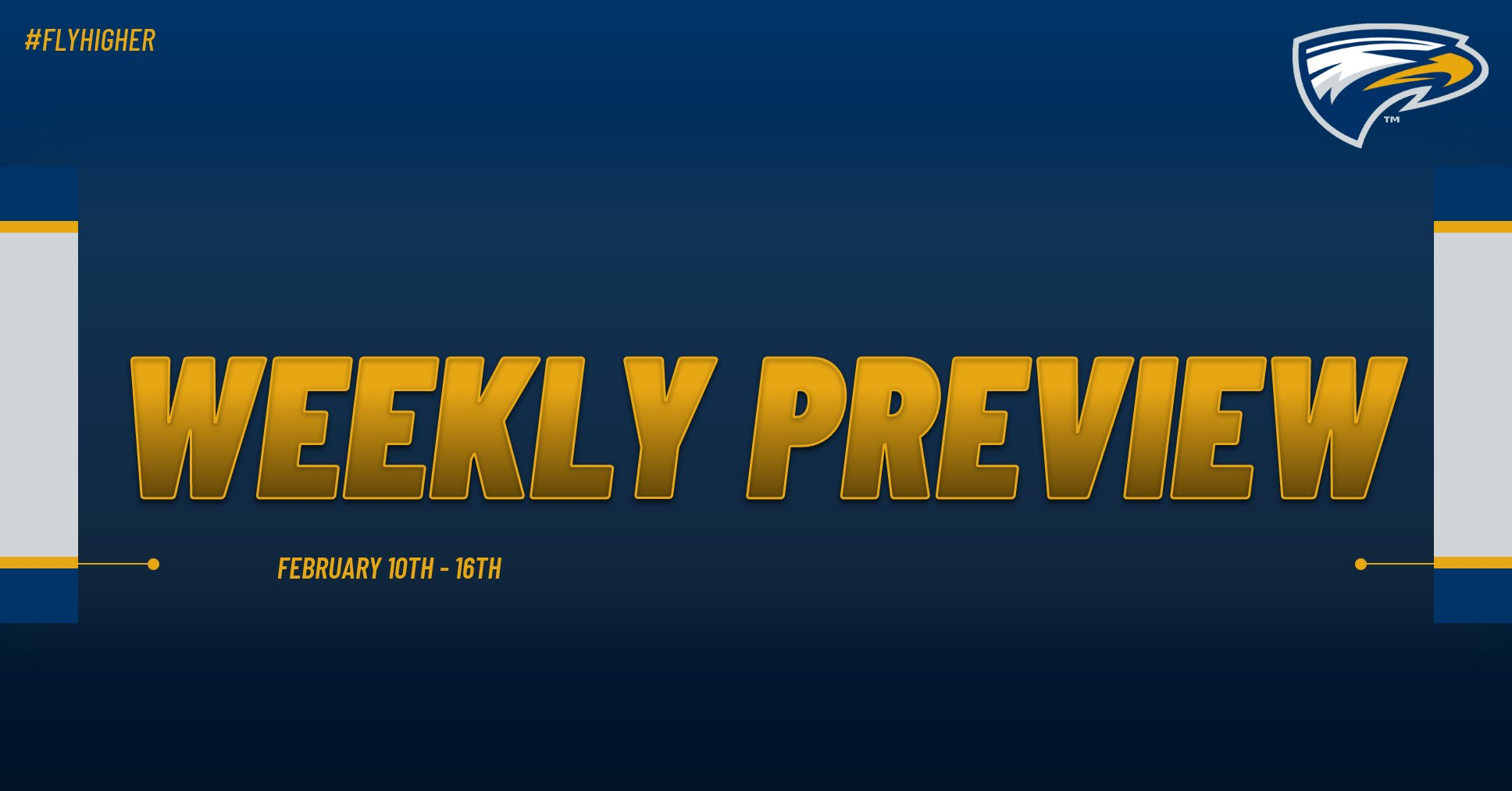 Emory Athletics Weekly Preview - February 10th - 16th