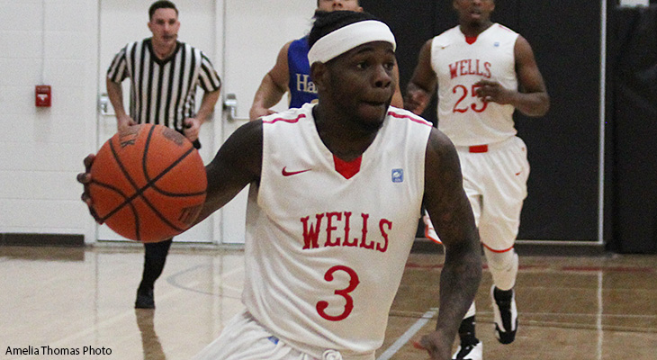 Hot-Shooting Hamilton Outguns Wells Men's Basketball