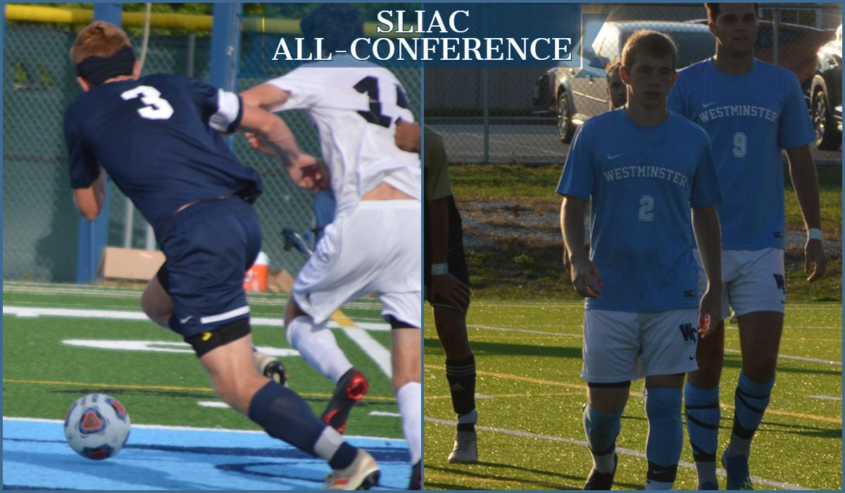 Heckart and Gerdiman Named Third Team All-Conference