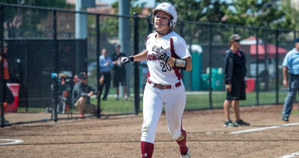 Fisher's Cycle Not Enough as Wild Sixth Sinks Bronco Softball at Cal