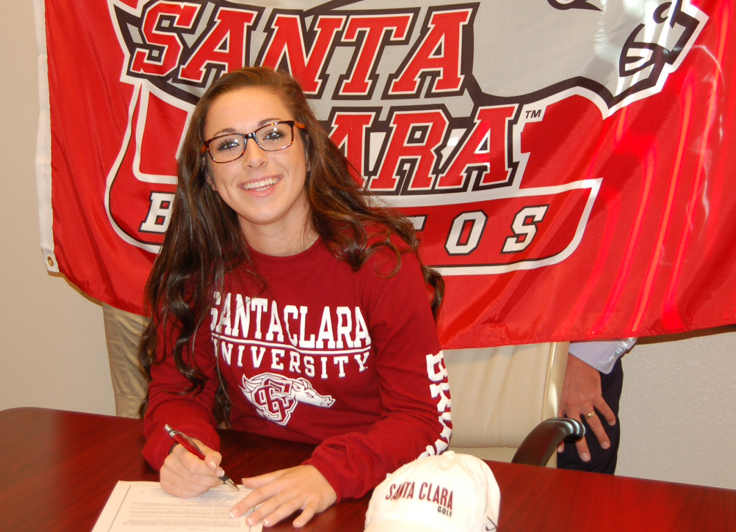 Prep All-America Golfer Annie Freman Chooses Santa Clara University