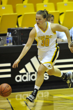 Erin Brown scored in double figures for the fourth straight game to start the season.