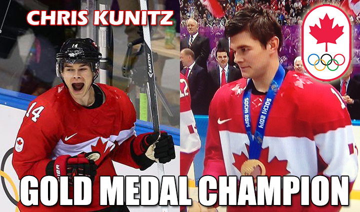 Ferris State Alum Chris Kunitz Helps Canada Capture Winter Olympics GOLD!
