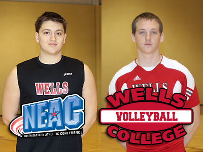 Nipps, Bayly Sweep NEAC Player of the Week Awards