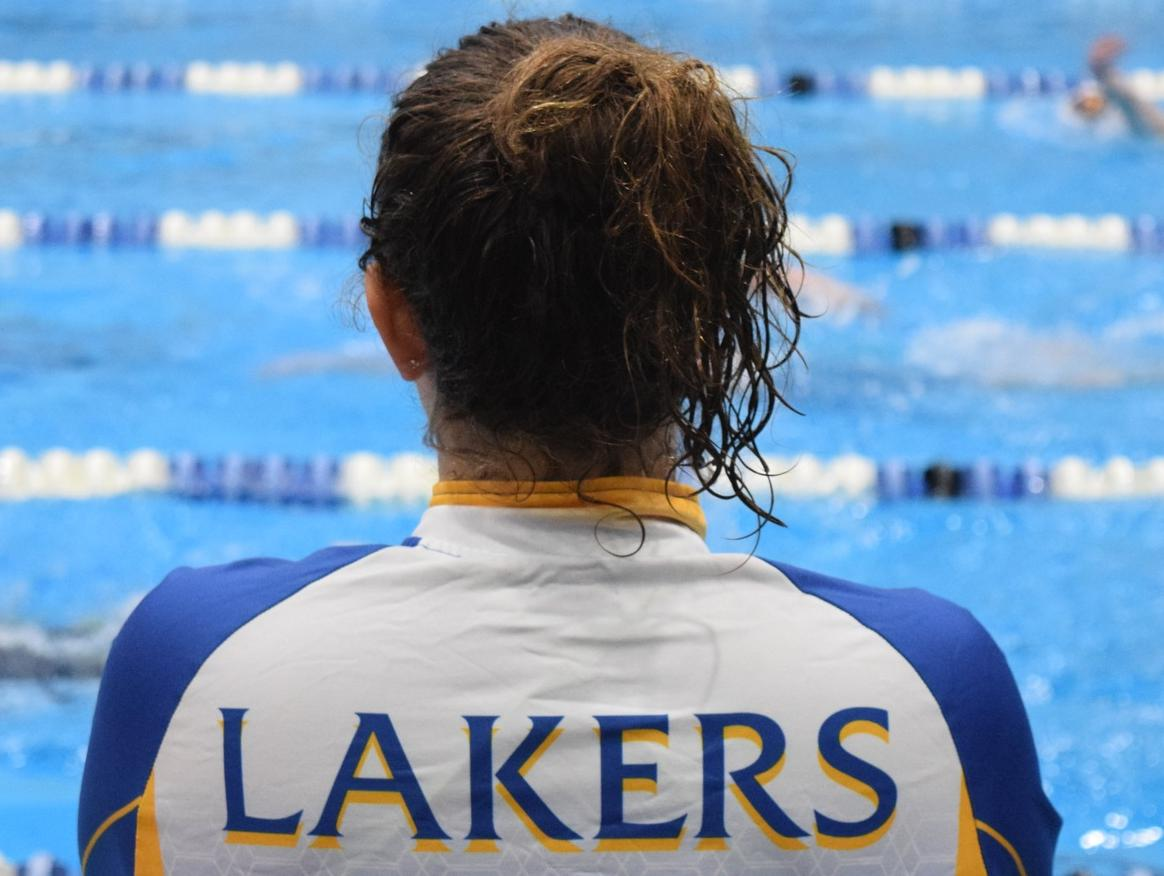 Laker Swimmers Looking Forward to Spring Semester Meets
