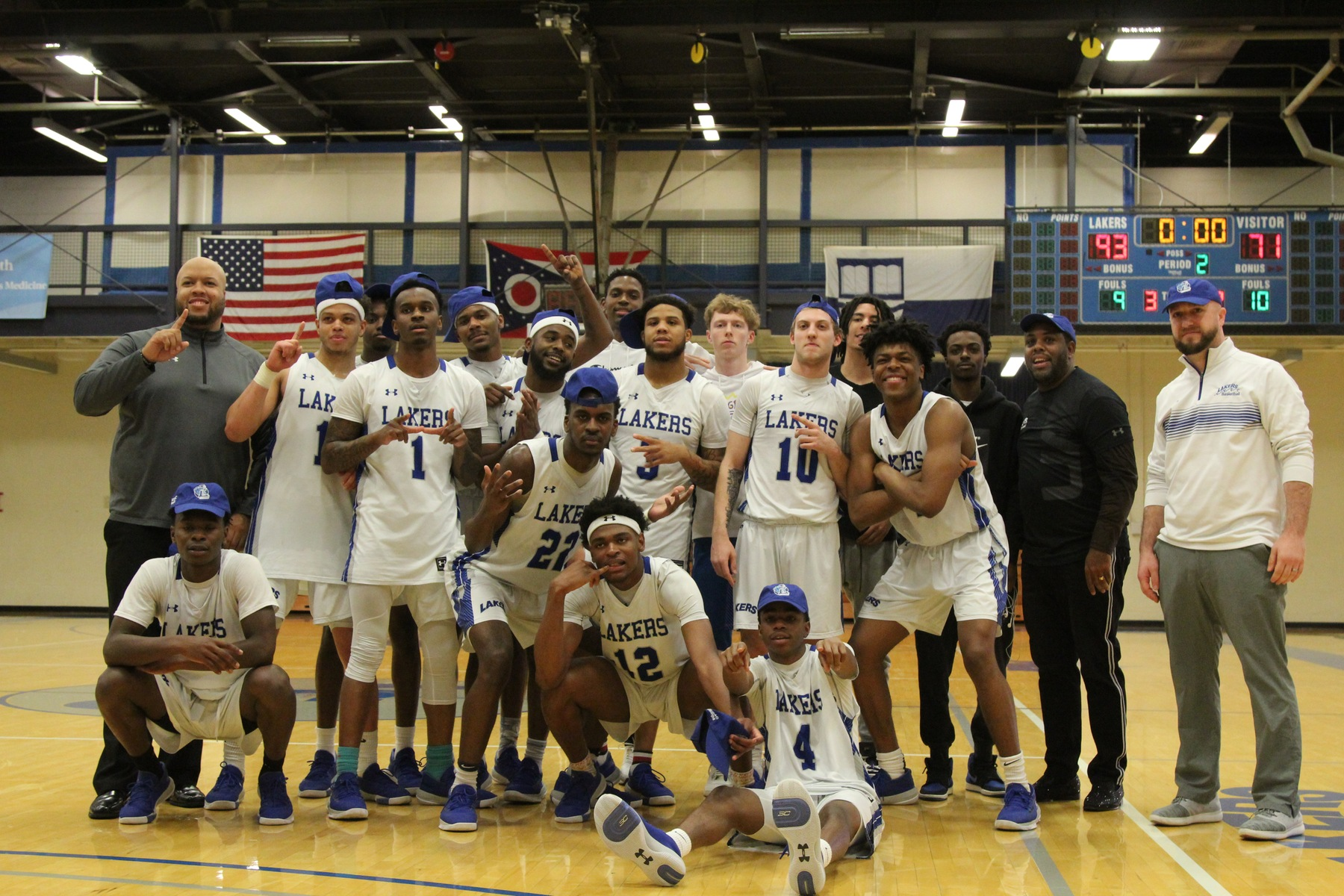 Lakers men clinch outright OCCAC Championship
