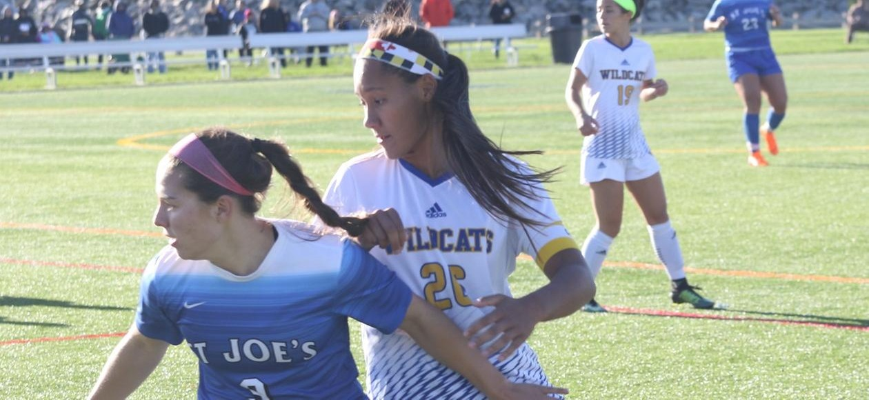 Women's Soccer Scores Early En Route to 2-0 Win at Simmons