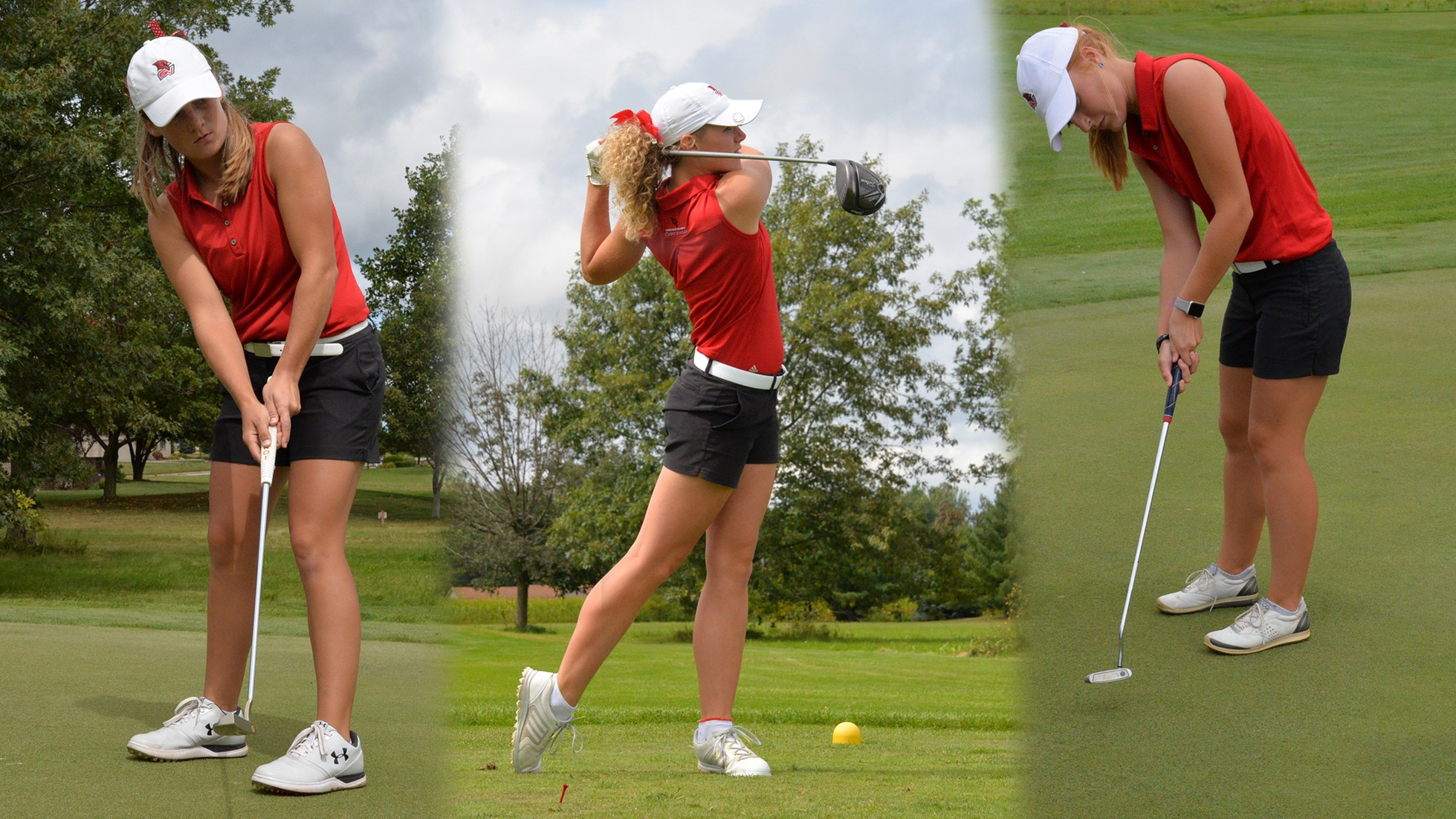 Three Cardinals Earn WGCA Scholar All-American Honors