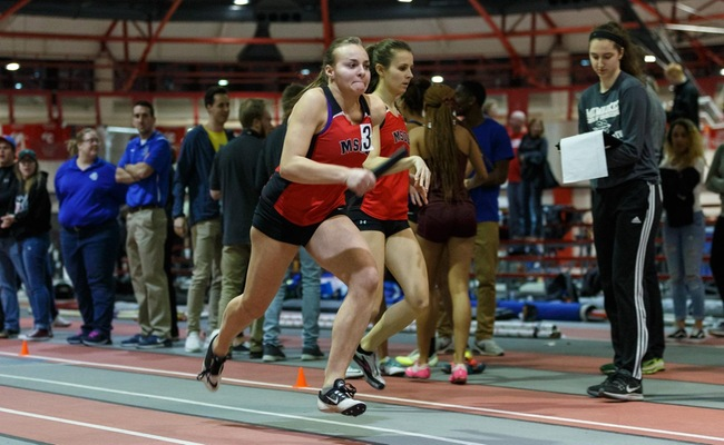 Women's Track and Field Turns In Fourth Place Performance