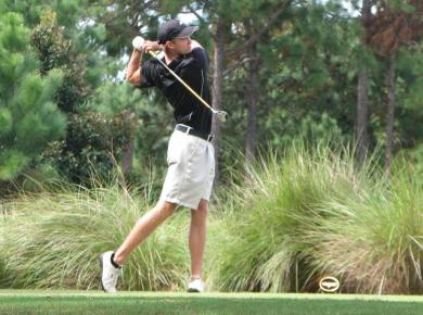 Men's Golf Leads by 10 Strokes After First Round at Callaway Gardens