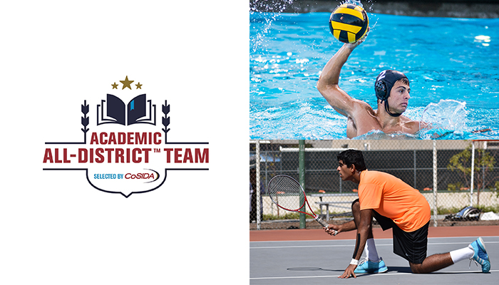 Bradley, Pathireddy Named Academic All-District