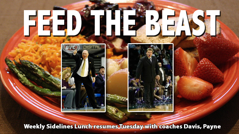 Weekly Sidelines Lunch resumes Tuesday with coaches Payne, Davis