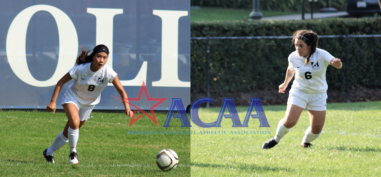Pineda and Shimabuku Recognized by ACAA