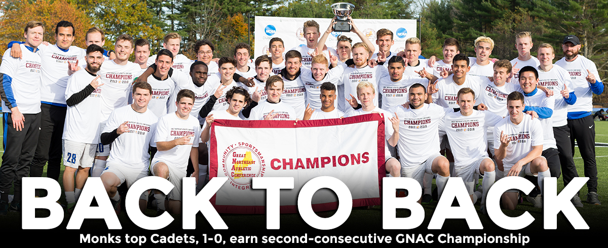 Monks Claim Second-Consecutive GNAC Championship!