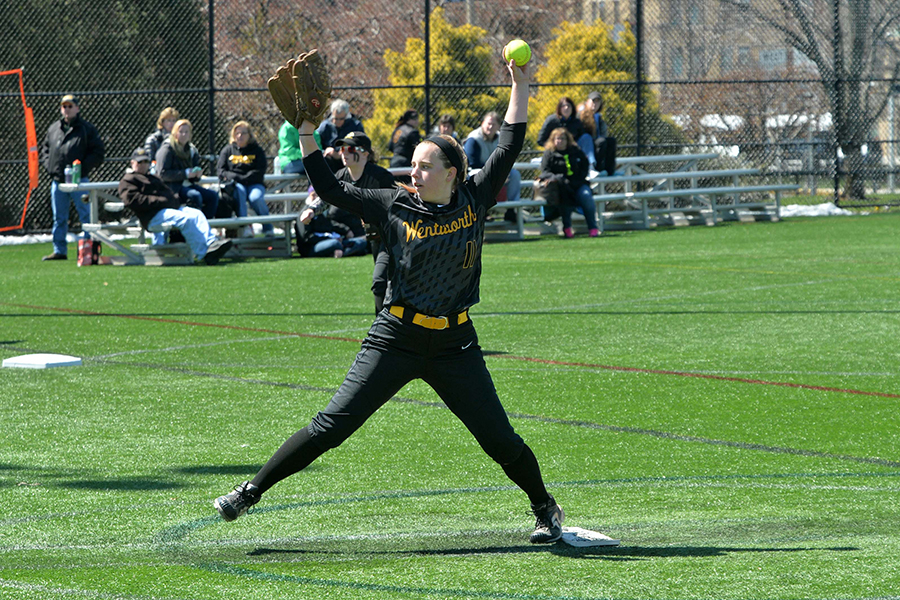 Softball Swept by Roger Williams in CCC Opener