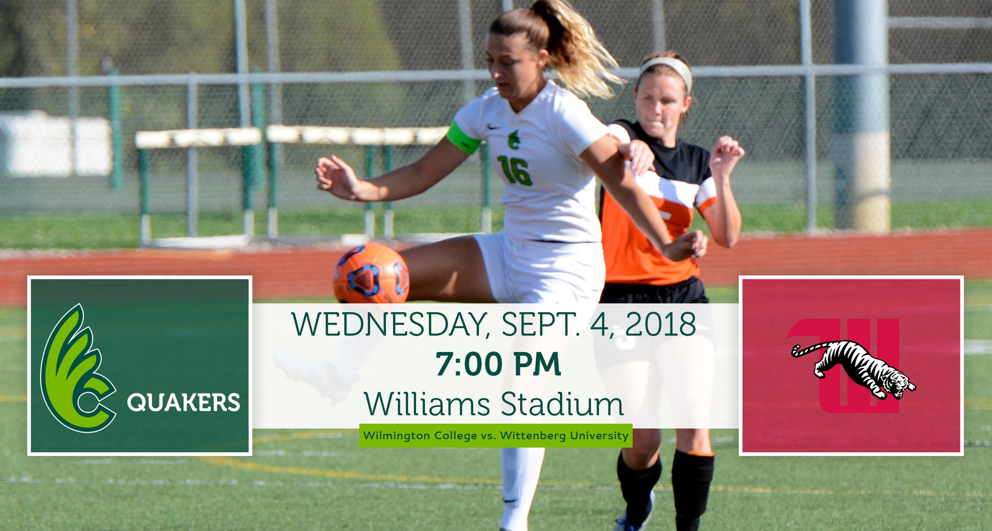 Women's Soccer Hosts Wittenberg in Home-Opener on Wednesday