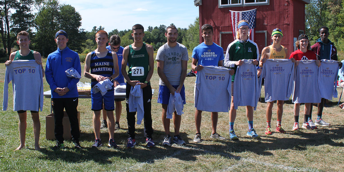 Rookies Blaze Trail for Men's Cross Country Third Place Finish at Mariner Invitational