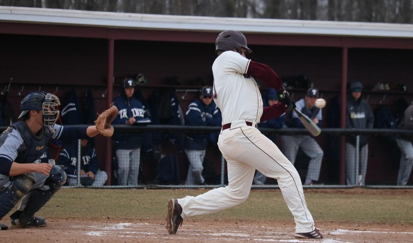 Baseball drops doubleheader with Trine