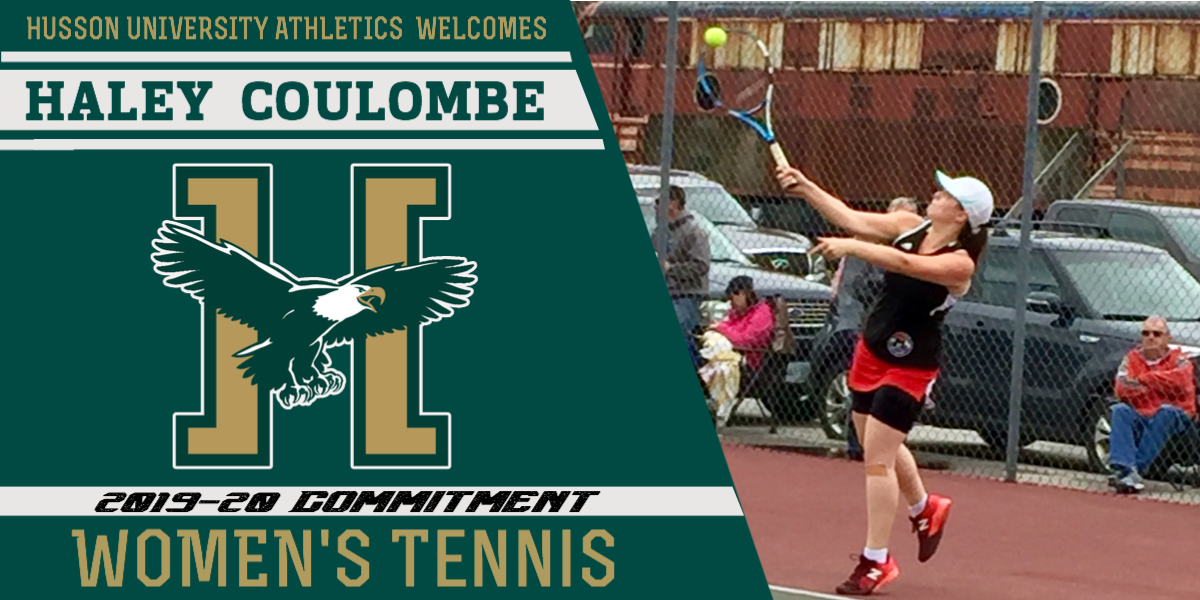 Haley Coulombe Joins the 2019-20 Women's Tennis Recruiting Class