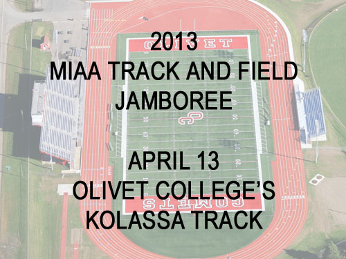 2013 MIAA Track and Field Jamboree