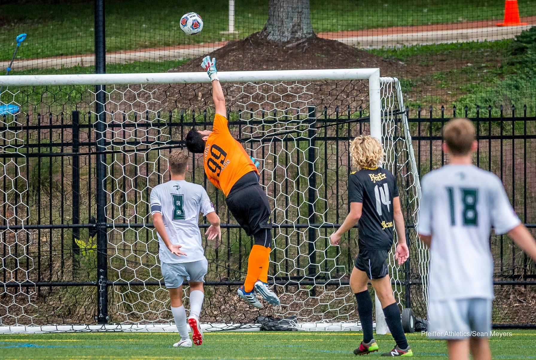 Covenant Converts Penalty Kick to Drop Pfeiffer Men's Soccer, 1-0