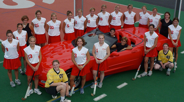 2001 Wittenberg Field Hockey