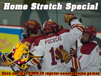 "Ferris State Hockey ""Home Stretch Special"" Ticket Package Announced"
