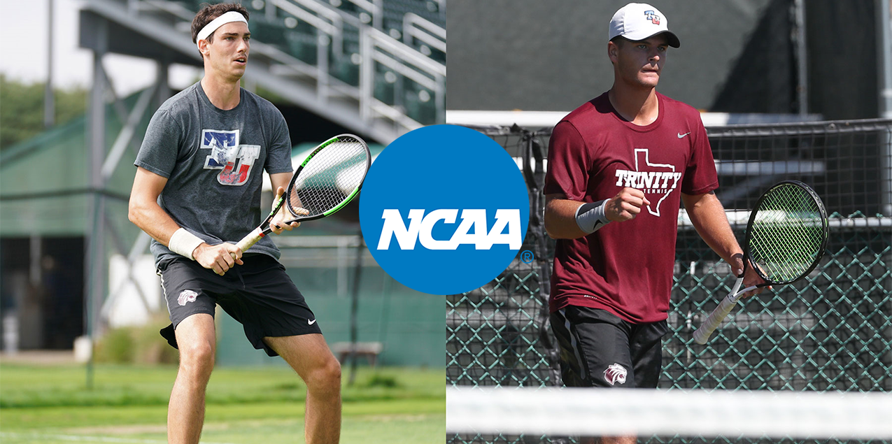 Trinity's Lambeth and Pitts Eliminated From NCAA Singles and Doubles