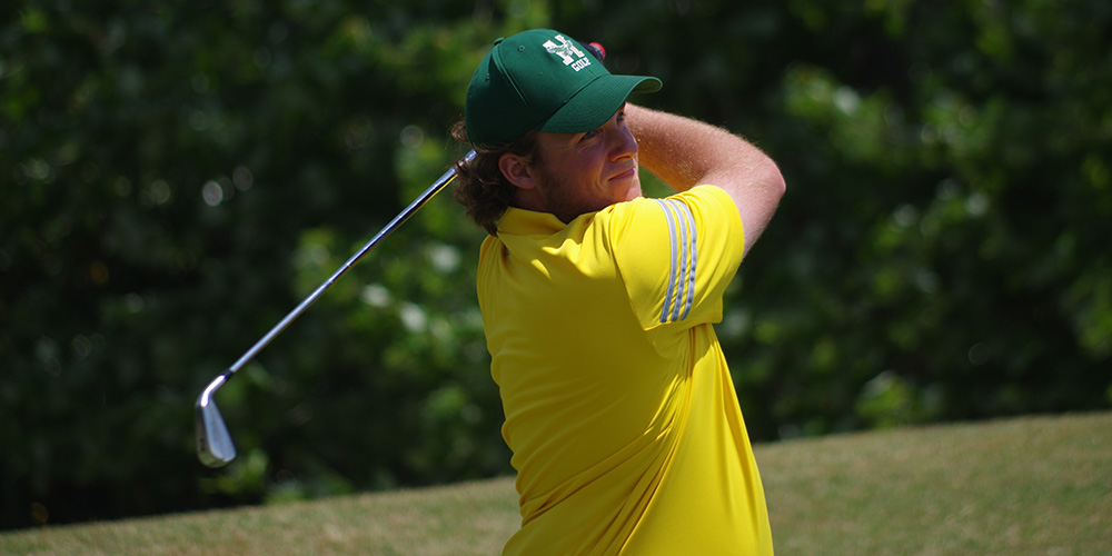Men's Golf Sits In 30th-Place Following Rain Shortened First Round at NCAA Tournament