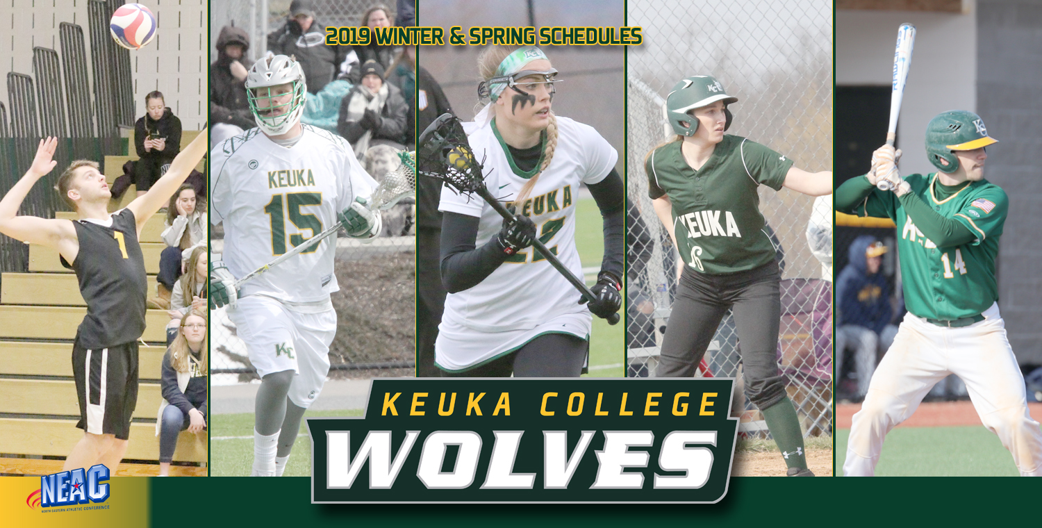 Keuka College Releases 2019 Schedules