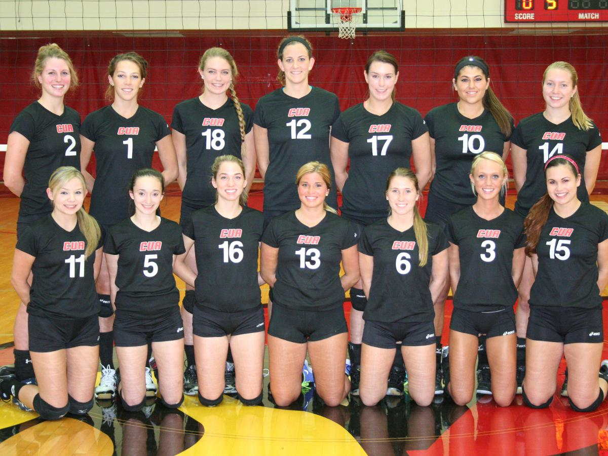 CUA Volleyball Predicted To Finish Second In The Conference