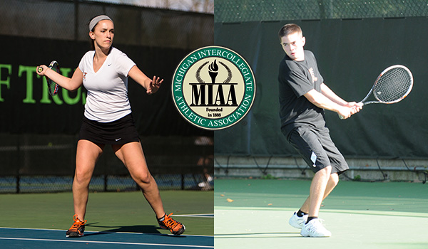 Men's and Women's Tennis teams win MIAA championships outright