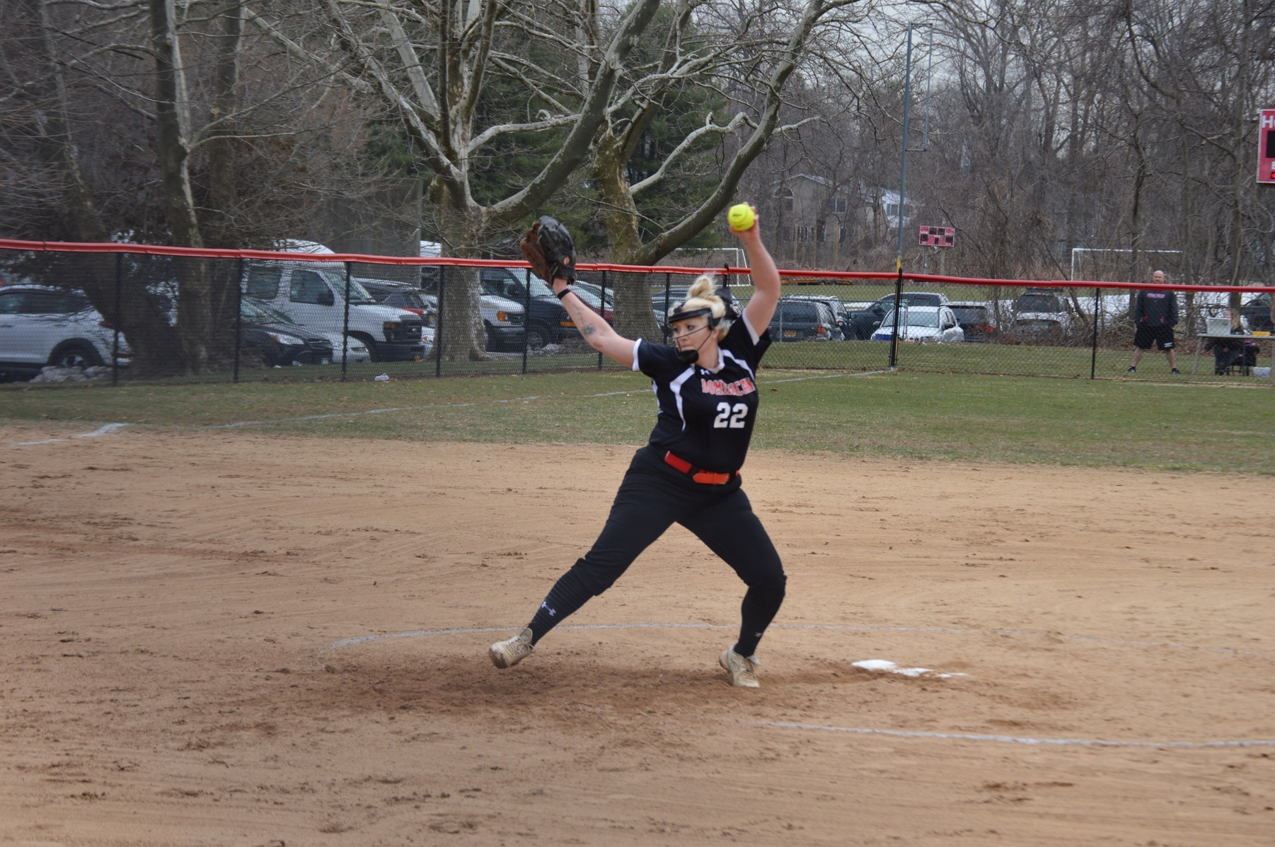 The Lady Chargers swept a CACC double-header over the visiting Warriors of Nyack College in games played this afternoon.