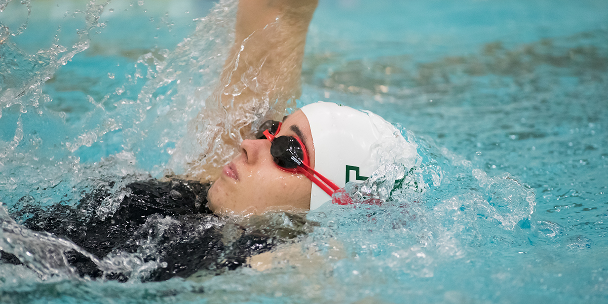 Women's Swimming & Diving Remain Unbeaten in Dual Meets with Victories over Fighting Scots and Monks