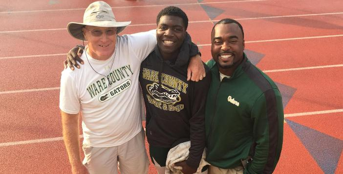 Ervin Nard Captures State Championship in the Discus