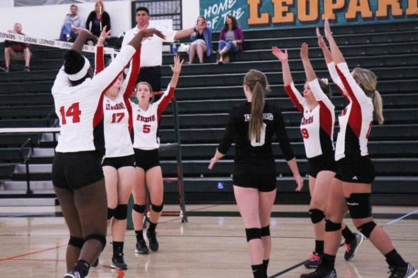 Volleyball Claims Hill City Rivalry, Sweeps Randolph 3-0