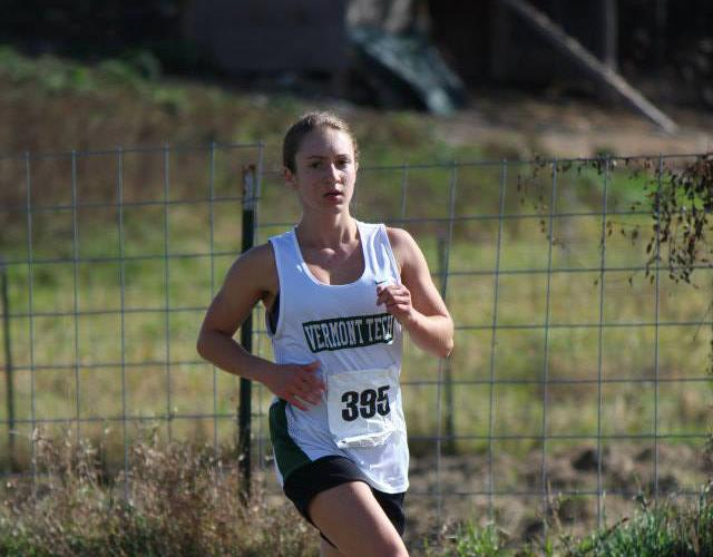 Women's Cross Country Rebecca Broadbent honored at Convocation