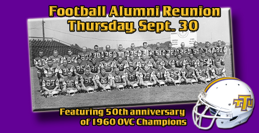 Former players invited back for Football Alumni Reunion Sept. 30