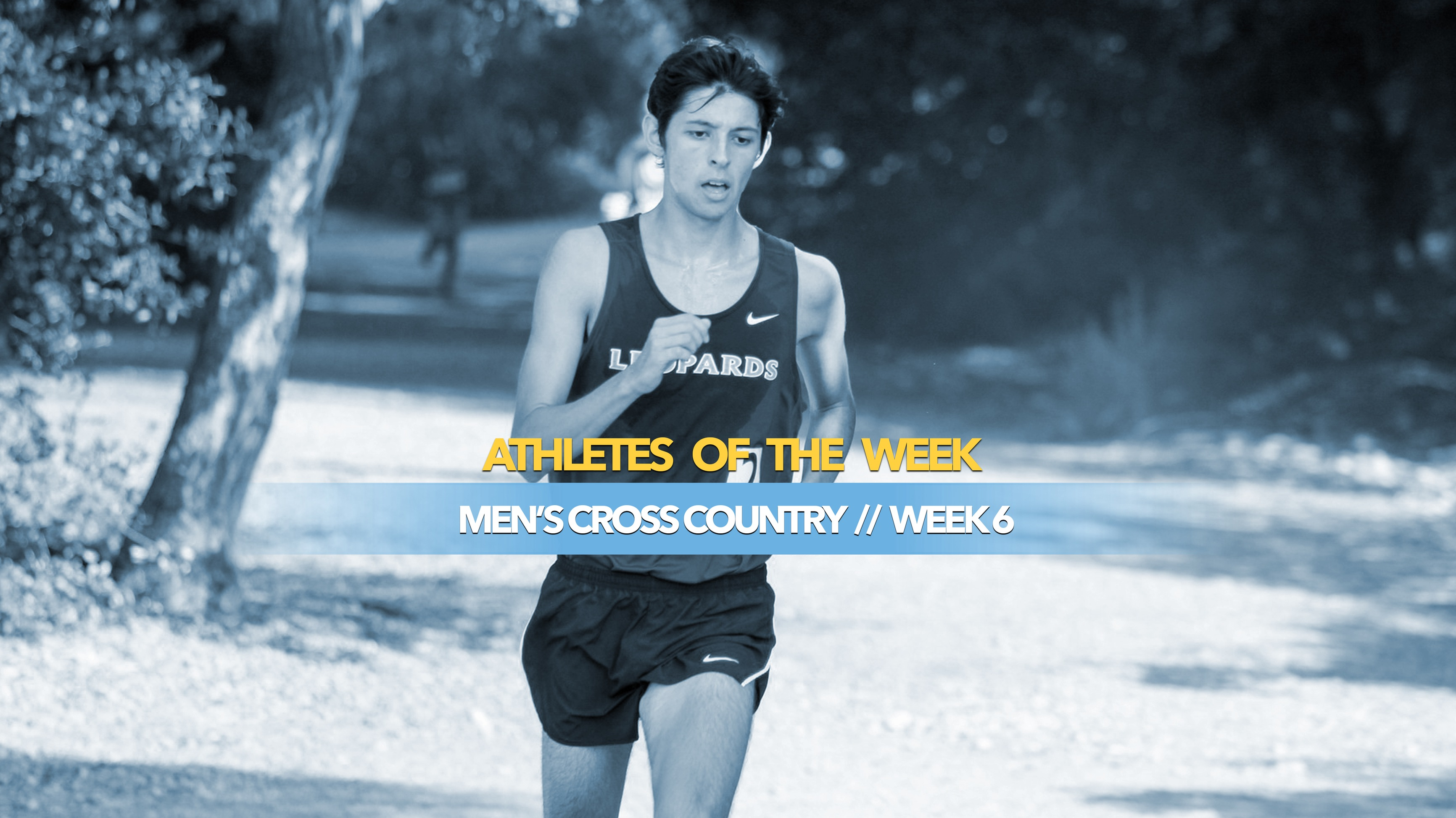 Men's Cross Country Athlete of the Week: October 7, 2019