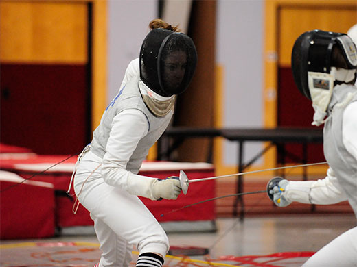 Women's fencing shines at Mid-Atlantic Regional championships