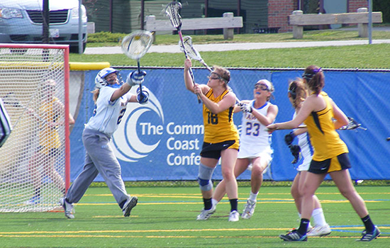 Women's Lacrosse Holds on For Third Straight Win