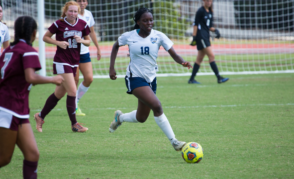 Women's Soccer Knocks off #14/15 Brandeis, 2-1, for First UAA Win
