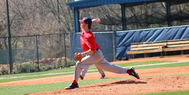 Mike Ellenbest fired a complete game, one-hitter in the game one victory at Findlay...