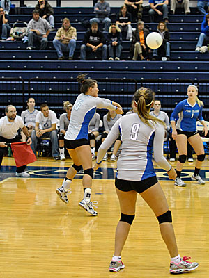 Penn College Volleyball Drops Two Matches