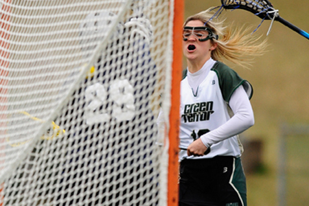 Bear breaks goals record in 13-11 win at Haverford